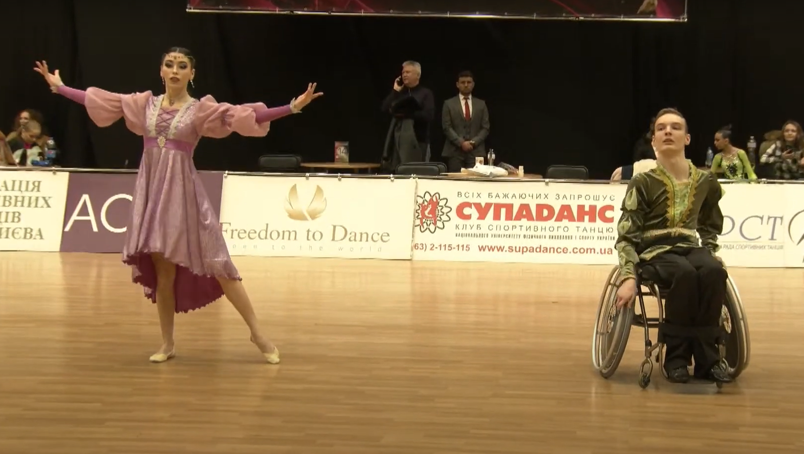 Студент групи ПІ-201 Гірчук Даніїл посів третє місце у Чемпіонаті України зі спортивних танців на візках серед осіб з ураженнями опорно-рухового апарату (Комбі фристайл)