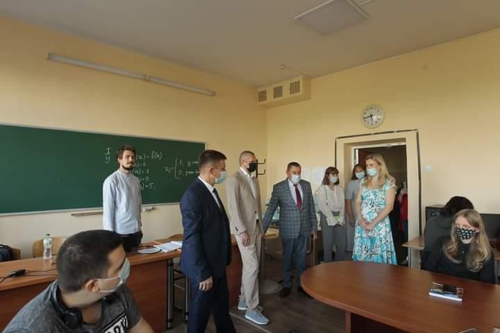 Візит заступника Міністра освіти і науки України з питань цифрового розвитку, цифрових трансформацій і цифровізації Артура Селецького